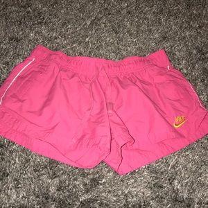 VINTAGE Nike running shorts
